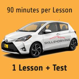 90 minutes Lesson + Test