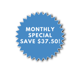 MONTHLY SPECIAL 5 HOUR MANUAL LESSON PACKAGE