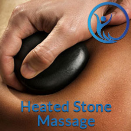 Heated Stone Massage- 1h
