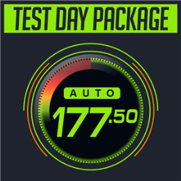 (2) Auto Test Day Package