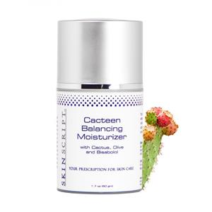 <ul> <li>For normal/combination skin and sensitive skin.</li> </ul> <p>&nbsp;</p> <p>This moisturizer will balance surface lipids and water with the healing properties of Prickly Pear Cactus and the fatty acids in olive oil. Bisabolol acts as an anti-inflammatory to sooth irritated or sensitized skin.</p>