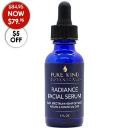 CBD- PKB Radiance Facial Serum, 30mL