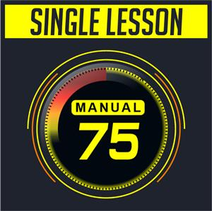 Manual Single RACQ-approved Lesson