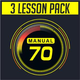 (7) Manual 3 Lesson Package