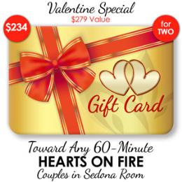 Deluxe Mini Hearts on Fire - 60-Min ($279 Value)