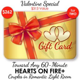 Deluxe Mini Hearts on Fire+ - 60-Min ($313 Value)
