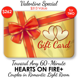 Deluxe Mini Hearts on Fire+ - 60-Min ($313 Value)