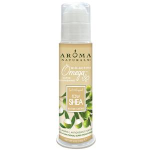 <p>Anti-Aging • Antioxidant Fortified • Multi-Functional • All Natural • Bioactive • Fragrance Free • Allergy Friendly • Gluten-free • Paraben-free • Non-GMO • Non-greasy • Multi-Beneficial • Fast Results • Never any animal by-products or animal testing.</p> <p>Aroma Naturals® Soft Whipped Shea Crème is All Natural, containing Organic Shea Butter, Rich Exotic Oils and our patent pending Omegas 3, 6, 7 & 9 complex. Our Duo-Phase 2020™ formula is activated with Organic Coconut Water, Organic Aloe Vera Gel and Organic Green Tea for quick hydration that helps to restore long lasting moisture to your skin. Sooth and nourish your skin back to health with this rich butter crème containing no petroleum by-products, for a natural looking protective finish and no greasy residue.</p> <p>All natural ingredients are combined using Cold pHusion™, our new Green Chemistry where little or no heat is applied to make our creamy emulsions. <strong>Perfect for all skin types. Can be used under makeup.</strong> <strong>Amazing results in just 12 hours.</strong></p>