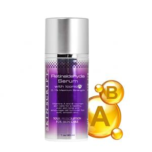 <ul> <li>Normal to dry, aging skin</li> <li>Hyperpigmentation - evens skin tone</li> <li>Sun-damaged skin</li> <li>Congested skin</li> <li>Rough skin</li> <li>Thin or sensitive skin</li> <li>Those who have experienced moderate to severe side effects with products that contain pure Vitamin A</li> </ul> <p></p> <p>IconicA (Retinal/Retinaldehyde) 2.5% converted into 0.1% Retinaldehyde is a stable and non-irritating form of Vitamin A addressing cell membrane health. Vitamins A and B reduce the appearance of fine lines and wrinkles. Brightens skin, reduces blemishes and hyperpigmentation. Increases skin moisture content. It is anti-inflammatory, promotes wound healing, reduces sensitivity, and alleviates heat while soothing skin irritation.</p>