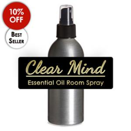 Clear Mind Room Spray,  4 oz