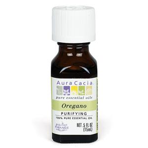 """<h1><span style=""""font-size: 14pt; color: #008080;"""">Aura Cacia Oregano Essential Oil 0.5 fl. oz.</span></h1> <p>&nbsp;</p> <ul> <li><span style=""""font-size: 12pt; color: #000000;"""">Origanum vulgare</span></li> <li><span style=""""font-size: 12pt; color: #000000;"""">Hungary</span></li> </ul> <p>&nbsp;</p> <p><span style=""""font-size: 12pt; color: #000000;"""">Steam distilled from the leaves, stems and flowers, oregano essential oil has a camphoraceous, herbaceous, thyme-like aroma. Oregano's protecting and purifying benefits make it an ideal oil in a wide variety of DIY recipes.</span></p><p class=""""padTop"""">* <u>Pickup Only</u></p>"""