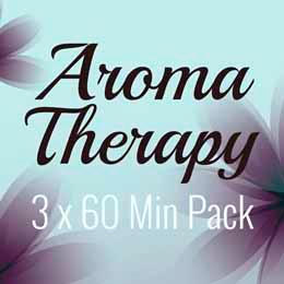 3 x 60 Min Aromatherapy Massage