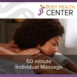 60 Minute Individual Massage