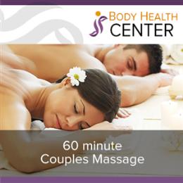 60 Minute Couples Massage