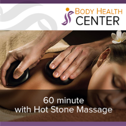 60 Minute with Hot Stone Massage
