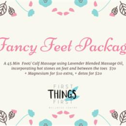 Fancy Feet Package