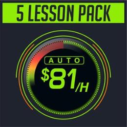 5 Lesson Pack Auto