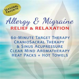 Allergy and Migraine Relief (60-Min)