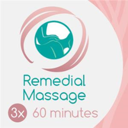 3 x 60 Min Remedial Massage