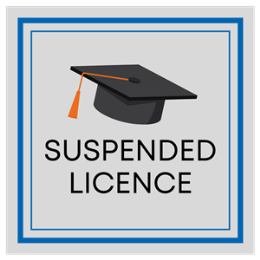 Suspended Licence