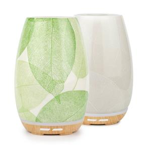 <p>The beautiful crafted leaf design of the Aroma Fern Diffuser creates a feeling of nature which you can enjoy indoors.</p>