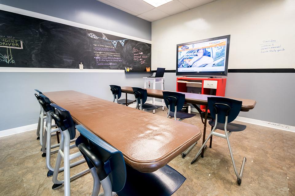 driver's ed classroom