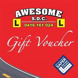 <p>Buy a Safer Drivers' Gift voucher for yourself, friend or family member.</p> <p>Your your own name to purchase it and then you'll be able to gift it once you've purchased it.</p>