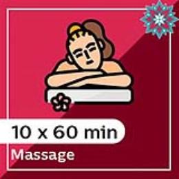 10 x 60 min Massage Pack