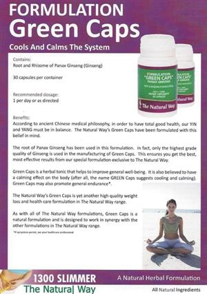 <p><strong>COOLS AND CALMS THE SYSTEM</strong></p>