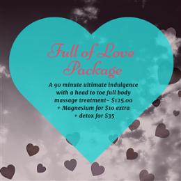 Full Of Love Package