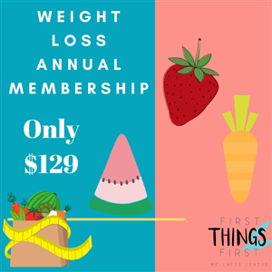 <p>Introducing our value packed Annual Weight Loss Membership. Keep yourself committed and on track for long term health change this year while enjoying the freebies and discounts along the way!</p>