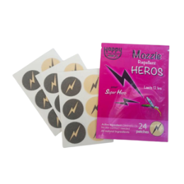 Happy Heros Mozzie Repellent 24 Patches