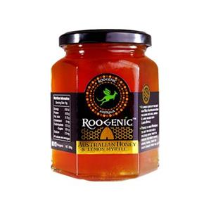 <p>A unique blend of the best raw Australian Honey including; Red Gum, Jarrah and Karri, infused with Lemon Myrtle.</p>