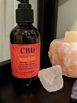 <p><strong>4oz bottle of CBD Body Oil in Bright and Youthful</strong></p>