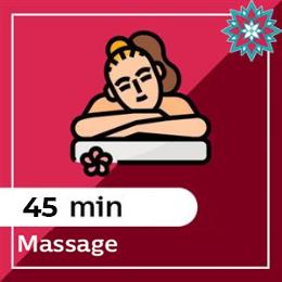 45 min Massage Voucher