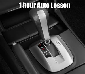 1 Hour Automatic Car Lesson