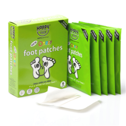 Happy Feet Foot Patches Box 10