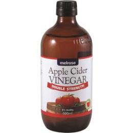 Melrose Double Strength Apple Cider Vinegar 500ml
