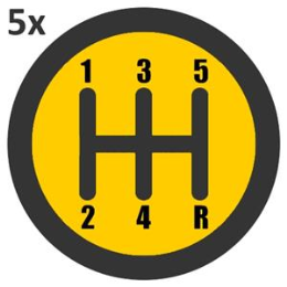 5 x 1 hour Manual Car Lessons