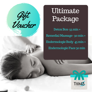 <p>&nbsp;</p> <p>&nbsp;</p> <p><strong>A 45 Minute Detox Box Session followed by a 85 minute Remedial or Relaxation Massage.</strong></p> <p>&nbsp;</p>
