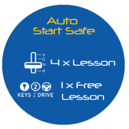 Auto Start Safe Package - 4.5 hrs of Lessons + Keys2Drive