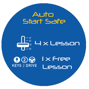 Auto Start Safe Package - 4.5hr Lessons + Keys2Drive