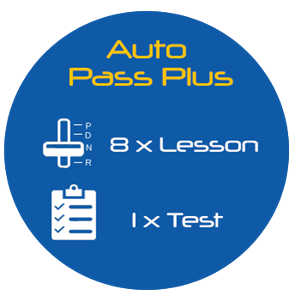 Auto Pass Plus - 8 Lessons + Test