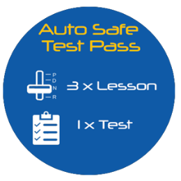 Auto Safe Test Pass - 3.5hr Lessons + Test