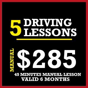 "<meta charset=""utf-8"" /> <p>Your voucher includes 5 x Manual Car Driving Lessons (45 minutes each). Lessons<u>can not</u>be shared or transferred between learners or instructors.</p> <meta charset=""utf-8"" /><meta charset=""utf-8"" /><meta charset=""utf-8"" /> <p>- There is 2.5% surcharge on credit cards.</p> <p><strong><span lang=""EN-US"">- Pay by Bank transfer (No surcharge) pay to:</span></strong><strong>HIENZ & CO:BSB:063 240ACC:1096 4787</strong></p> <p>- If you pay by cash or bank transfer. Don't pay this voucher now.</p> <p><span style=""color: #ff0000; font-size: 18pt;""><strong><span style=""text-decoration: underline;"">Note</span>:</strong> </span><strong><em><u>For Manual lessons</u></em></strong><strong>,</strong> please call: 03 9317 4871.</p> <meta charset=""utf-8"" /> <h3 class=""mid-cent"" style=""margin-top: 50px;"">Note: Manual Lessons are only available in the following suburbs</h3> <ul class=""ulSuburbCondensed""> <li>Albanvale</li> <li>Albion</li> <li>Ardeer</li> <li>Armadale</li> <li>Ascot Vale</li> <li>Ashburton</li> <li>Ashwood</li> <li>Avondale Heights</li> <li>Bentleigh East</li> <li>Bentleigh</li> <li>Box Hill North</li> <li>Box Hill</li> <li>Braeside</li> <li>Braybrook</li> <li>Burnside Heights</li> <li>Burnside</li> <li>Burwood East</li> <li>Burwood</li> <li>Cairnlea</li> <li>Camberwell</li> <li>Chadstone</li> <li>Clarinda</li> <li>Clayton South</li> <li>Clayton</li> <li>Dandenong North</li> <li>Dandenong South</li> <li>Dandenong</li> <li>Deer Park</li> <li>Derrimut</li> <li>Dingley Village</li> <li>Doveton</li> <li>Endeavour Hills</li> <li>Footscray West</li> <li>Footscray</li> <li>Glen Iris</li> <li>Glen Waverley</li> <li>Heatherton</li> <li>Huntingdale</li> <li>Kealba</li> <li>Keilor Downs</li> <li>Keilor East</li> <li>Keilor</li> <li>Keysborough</li> <li>Kings Park</li> <li>Lynbrook</li> <li>Maidstone</li> <li>Malvern</li> <li>Maribyrnong</li> <li>Mordialloc</li> <li>Mount Waverley</li> <li>Mulgrave</li> <li>Murrumbeena</li> <li>Narre Warren East</li"