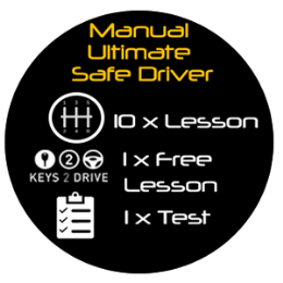 Manual Ultimate Safe Driver - 11 Lessons + Test