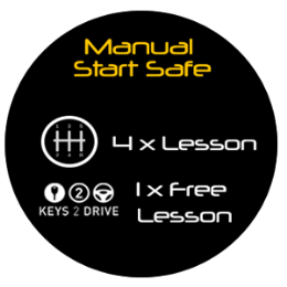 Manual Start Safe Package - 4.5hrs of Lessons + Keys2Drive