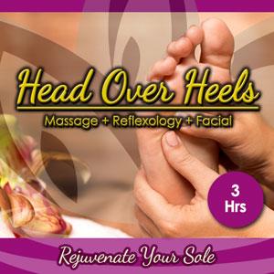 "<p class=""padLg"">Your package includes:</p> <ul class=""vouchers""> <li class=""placeHolders""> Save 15% - $205 for $175</li> <li class=""placeHolders""> 3 Hours of Relaxation</li> <li class=""placeHolders""> 1 Hour Therapeutic Massage</li> <li class=""placeHolders""> 1 Hour VL Essentials Facial</li> <li class=""placeHolders""> 1 Hour Reflexology</li> </ul>"