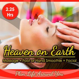 "<p class=""padLg"">Your package includes:</p> <ul class=""vouchers""> <li class=""placeHolders""> Save 10% - $185 for $167</li> <li class=""placeHolders""> 2.75 Hours of Relaxation</li> <li class=""placeHolders""> 90 Minute Therapeutic Massage</li> <li class=""placeHolders""> 1 Hour VL Essentials Facial</li> <li class=""placeHolders""> Luminosity Hand or Foot Smoothie</li> </ul>"