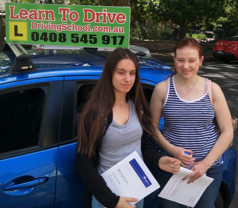 Driving Course Graduates
